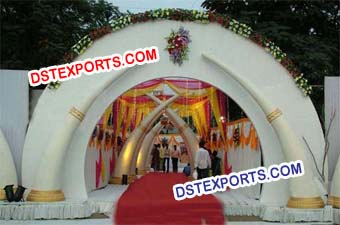 Indian Wedding Elephant Trunk Decors