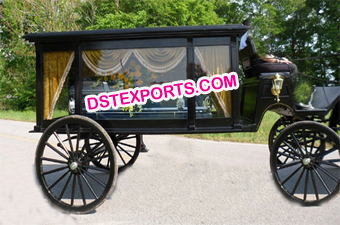 Royal Family Funeral Horse Carriage
