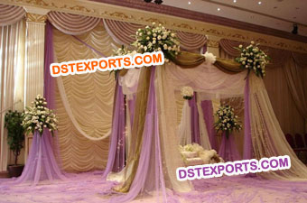 Nigerian Wedding Lehriya Backdrop