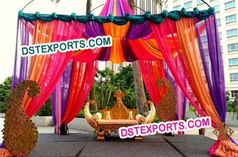 Best Muslim Wedding Stage Set