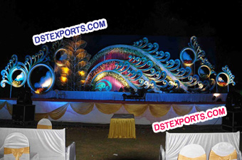Radhe Krishan Wedding Stage