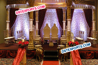 Bollywood Crystal Mandap Set For Sale