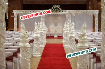 Best Wedding Crystal Mandap Set