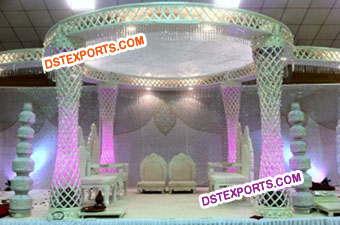 Best Design Crystal Mandap Set