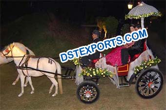 Wedding Small Horse Carriage