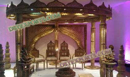 INDIAN WEDDING DURBAR MANDAP