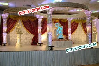 Aishwaria Wedding Crystal Mandap