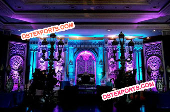 Asian Wedding Stylish Stage Set