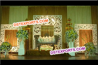 New Design Wedding Stage Fiber Backdrop Panels