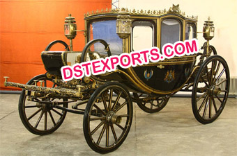 Royal King Horse Carriage Foe Wedding