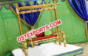Indian Wedding Decorated Meenakari Swing