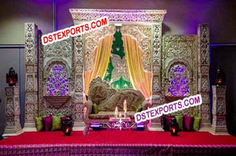 Bollywood Wedding Stylish Stage