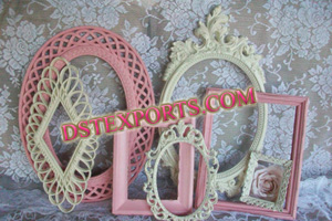 WEDDING STAGE CARVED PHOTO FRAMES