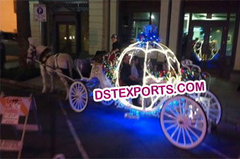 New Tourist Cinderella Horse Drawn Carriage