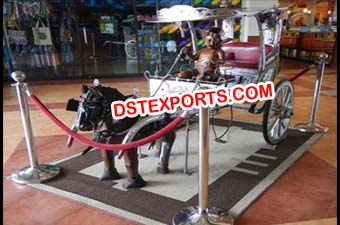 Show Room Horse Cart Decoration