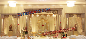 WEDDING RAJASTHANI WOODEN MANDAP