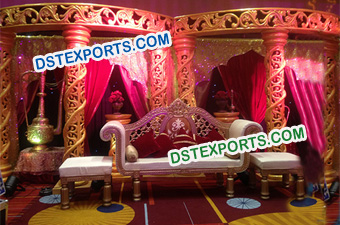 Muslim Wedding Fiber Stage Decors