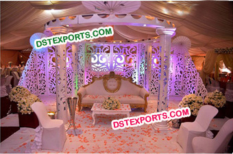 Nigerion Wedding Decorated Stage