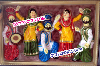 Rangla Punjab Photo Frame Set