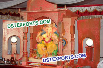 Wedding Decor Fiber Ganesha Statue