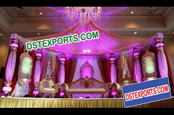 Royal Wedding Muslim Walima Stage