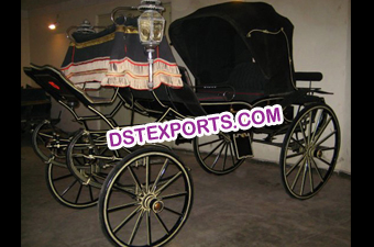 Royal School Black Horse Carriage