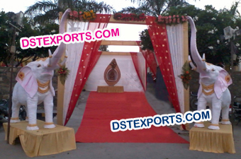 Wedding Welcome Entrance Elephant Statues
