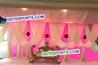 Wedding Curtains Backdrop Stage