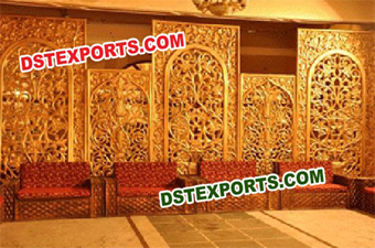 Rajasthani Wedding Art Backdrop Panel
