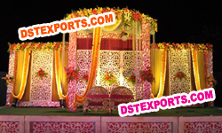 RAJASTHANI WEDDING STAGE BACKDROP