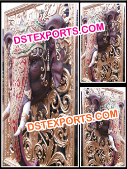 ROYAL INDIAN WEDDING ENTRANCE ELEPHANT PANELS