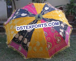 INDIAN WEDDING DECORS PARASOLS