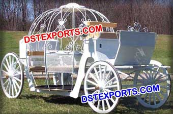 Nigerian Wedding White  Carriage