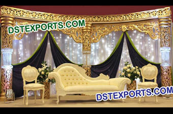 Muslim Wedding Stage Decoration