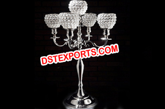 Wedding Table Crystal Candelabra