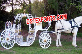 Latest Cinderella Love Horse Drawn Carriage