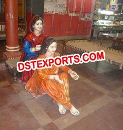 TRADITIONAL PUNJABI CULTURE STATUE MANUFACTURERS