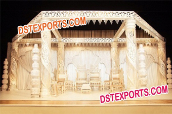 Wedding Krishma Crystal Mandap Set