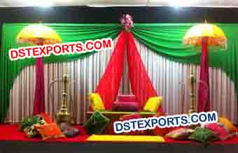 Fabulous Wedding Mehndi Sangeet Decoration