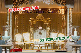 Royal Hindu Wedding Latest Stage Set