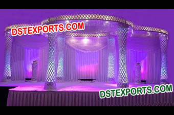 Wedding Crystal Mandap Manufacturer