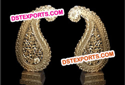WEDDING DECOR GOLDEN PAISLEYS