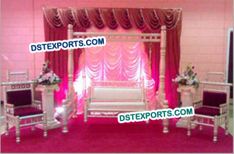 Gujrati Wedding Stage Jhula Set