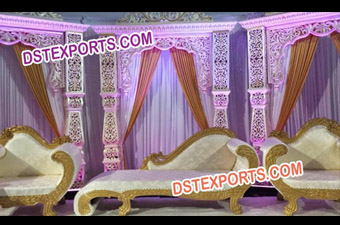 Stylish Indian Wedding Tradotional Stage