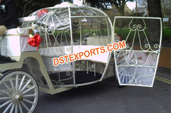 Wedding Cinderella Horse Carriage With Door