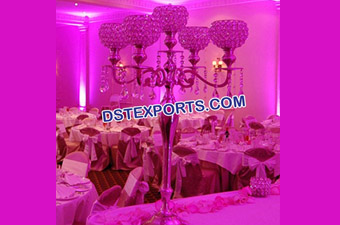 Wedding Crystal Candelabra Center Piece