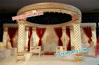 Hindu Wedding Fabulas Crystal Stage