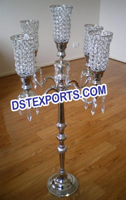 LATEST WEDDING CRYSTAL CANDLEBRAS
