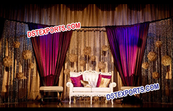 Wedding Stage Love Seater