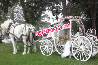 Wedding Cinderella Horse Drawn Carriage
